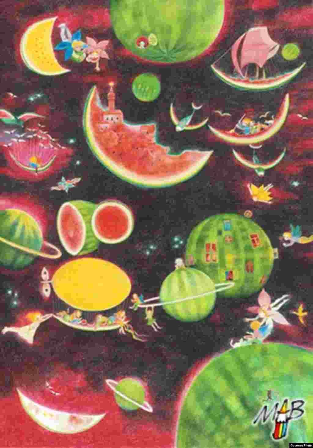 Арбузная планета