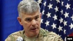 Официальный представитель возглавляемой США коалиции в Ираке полковник Стив Уоррен.