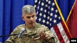 سرهنگ استیو وارن، سخنگوی ائتلاف بینالمللی به رهبری آمریکا علیه گروه حکومت اسلامی است.