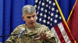 U.S. military spokesman Colonel Steve Warren (file photo)