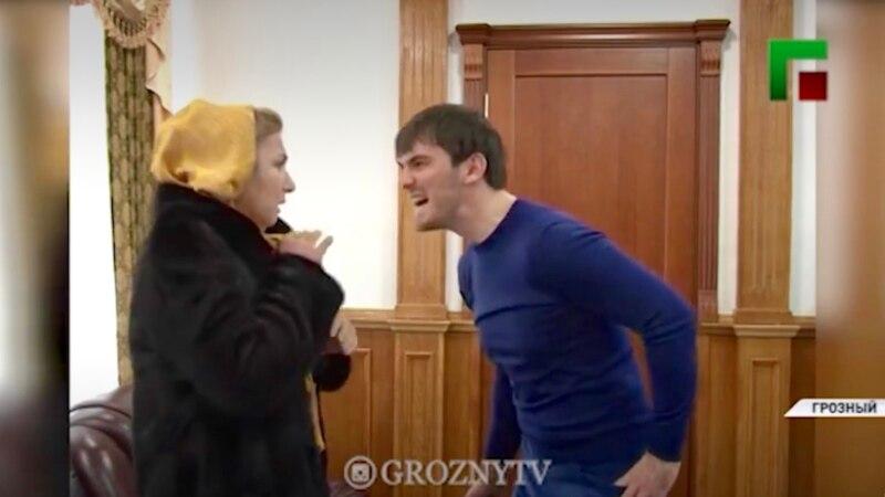 Бывший мэр Грозного извинился после публикации видео, где он бьет людей электрошокером