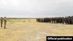 Ադրբեջանական զինված ուժերի ստորաբաժանում, արխիվ