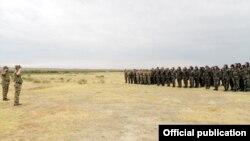 Ադրբեջանի բանակի ստորաբաժանումներից մեկը, արխիվ