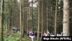 Marš mira prema Srebrenici