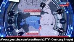 У програмі «60 минут» на російському «Першому каналі» ведуча Ольга Скабєєва глузує з естонського політика, використовуючи фрази «не найоперативніша естонська реакція», «нарешті до них дійшло» тощо, 20 листопада 2019 року