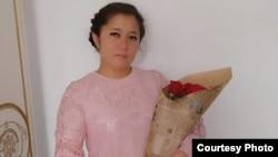 Жадыра Жұмалиева 2020 жылдың наурызында.