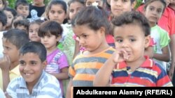 أطفال عراقيون