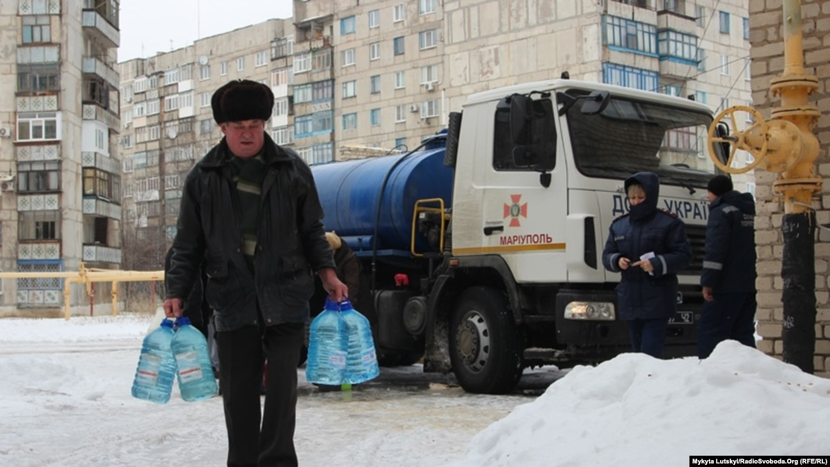 Водоснабжение в Торецьку на Донбассе возобновят 15 января – ВЦА