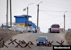Блокпост під Лисичанськом. Донбас 12 березня 2015 року