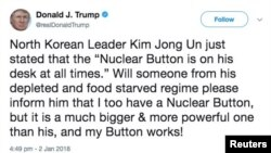 Тот самый твит Трампа