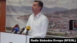 Јован Стојаноски, советник од СДСМ во советот на Општина Охрид.