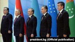 Лидеры центральноазиатских государств.