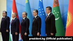 Главы государств Центральной Азии, Ташкент, 29 ноября, 2019.