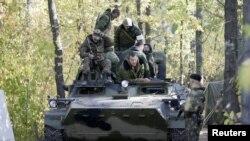 Proruski separatisti, Donjeck
