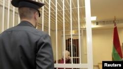 Алесь Беляцкий в суде