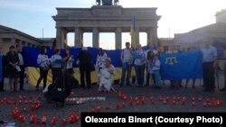 Акция к годовщине депортации крымских татар, 18 мая 2017 года
