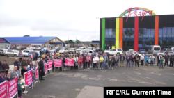 Митинг предпринимателей Тулуна 29 августа 2019 года