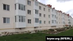 Дом для переселенцев с Цементной слободки в Керчи