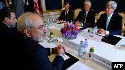 Ավստրիա - ԱՄՆ-ի պետքարտուղար Ջոն Քերրիի և Իրանի արտգործնախարար Մոհամադ Ջավադ Զարիֆի հանդիպումը Վիեննայում, 13-ը հուլիսի, 2014թ․