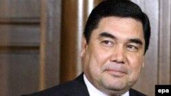 Претседателот на Туркменистан, Гурбангули Бердимухамедов.