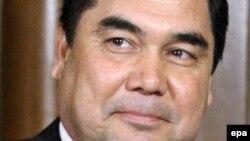 Tуркменистанскиот претседател Гурбангули Бердимухамедов.