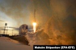 Пуск ракеты-носителя Союз-2.1б с космодрома Восточный, закончившийся неудачей, ноябрь 2017 года