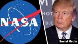 Дональд Трамп НАСА тадқиқотлари учун қўшимча маблағ ажратди.