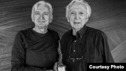 Мице Јанкуловски и наградениот француски сликар Пјер Сулаж