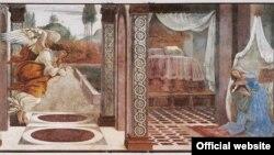 Botticelli, Bunavestire expusă la expoziția de la Frankfurt 2009
