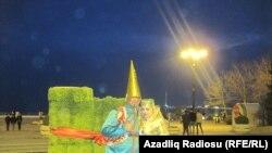 Bakıda Novruz bayramı, arxiv fotosu