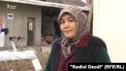 Жительница Душанбе Мархабо