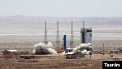 Imam Khomeini Space Center in Semnan, Iran. FILE PHOTO