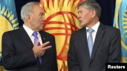 Назарбаев пен Атамбаев