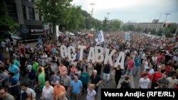 """Inicijativa Ne da(vi)mo Beograd nastala je spontano kao protest zbog projekta """"Beograd na vodi"""""""