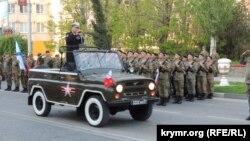 Репетиція параду в Керчі, травень 2019 року