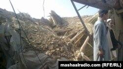 Jedan od napada dronom na medresu mreže Hakani, ilustracija