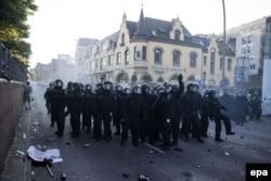 Полицейские в Гамбурге