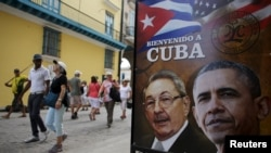 Улицы Гаваны накануне приезда Барака Обамы