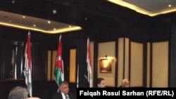 جانب من إجتماعات وزراء النقل في العراق والأردن ومصر