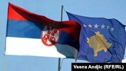 Flamujt e të dyja shteteve