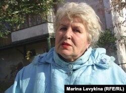 Лидия Кобзарь, жительница Семея. 1 ноября 2011 года