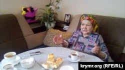 Депортированная из Крыма в 1944 году Зейнеб Ибрагимова. Поселок Новоалексеевка Херсонской области, 26 мая 2018 года