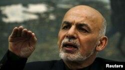 افغان ولسمشر اشرف غني (پخوانی عکس)
