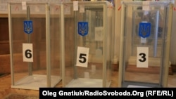 Ukraine -- Local elections, Kyiv, 25Oct2015