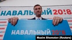 Олексій Навальний 24 грудня подав у ЦВК Росії документи про реєстрацію кандидатом на виборах президента