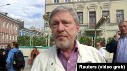 Оппозиционный политик Григорий Явлинский