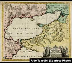 Nemse haritacı Mateus Zoyterniñ 1730 senesi haritası