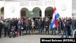 Mirni protest u Mostaru, 8. mart 2016.