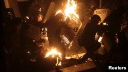 Столкновения в Киеве. 19 января 2014 года