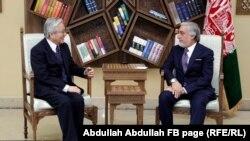 عبدالله عبدالله او تدامیچي یاماموتو.